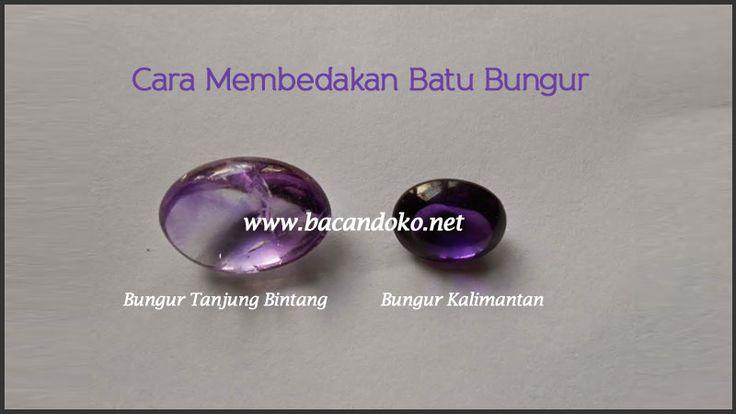 Perbedaan Batu Bungur Kalimantan Dengan Batu Bungur Tanjung Bintang