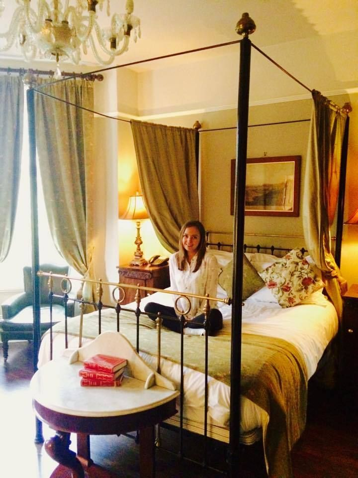 A real Princess bed! Marmadukes Hotel in York, UK.  Luxury hotels | UK travel | Where to stay in York | heritage hotels | historic buildings in York | England travel