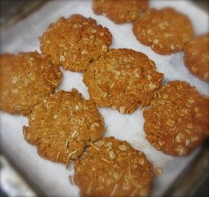 The iconic Aussie biscuit - Anzac Day Biscuits - yummmm