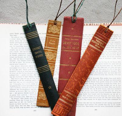 12 snygga saker att göra med böcker