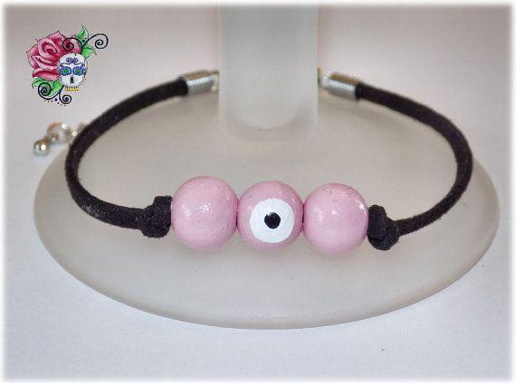 Bracelet Mauvais Oeil Protection Amour par ValniDesignsJewelry