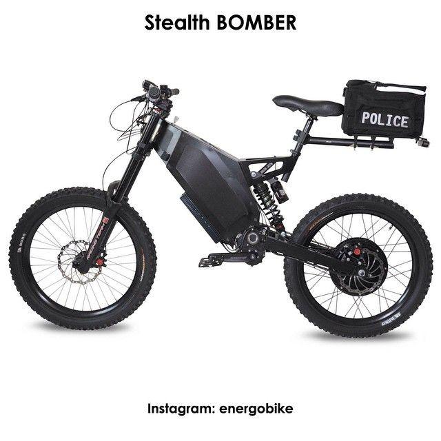 Stealth BOMBER Дисковые тормоза Зарядка 2 часа Запас хода до 50 миль (80 км); уровень шума при скорости 50 км/ч — 65 dB; ёмкость  LiFePO4 батареи — 1,5 kWh; Вес велосипеда  около  53 кг Цена - 10 000$ http://www.stealthelectricbikesusa.com/bomber.html #instabike #biker #motorbike #bikelife #bike #moto #motogp #motorbike #sportbike #motolife #superbike #bikestagram #electricmotorcycle #electricbike #cycle #instamoto #instabike #monsterenergy #motocycle #supermoto #electrobike #мото #мотоцикл…