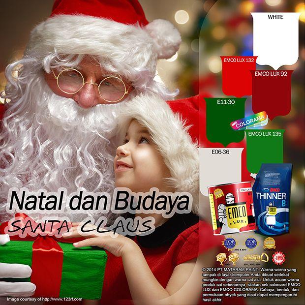 Kawan EMCO, kejutan dari Santa Claus mayoritas paling ditunggu oleh anak-anak saat perayaan Natal. Meraka biasanya sigap menyiapkan cookies dan minuman di meja sebelum tidur. Peraturannya adalah mereka harus menjadi anak yang baik, menyiapkan hidangan berupa cookies dan minuman. Keesokan harinya tepat saat Hari Natal Santa Claus akan meninggalkan kado untuk si anak. #EMCOLUX #catkayubesi #warnawarni #indonesia #surabaya #jakarta #depok
