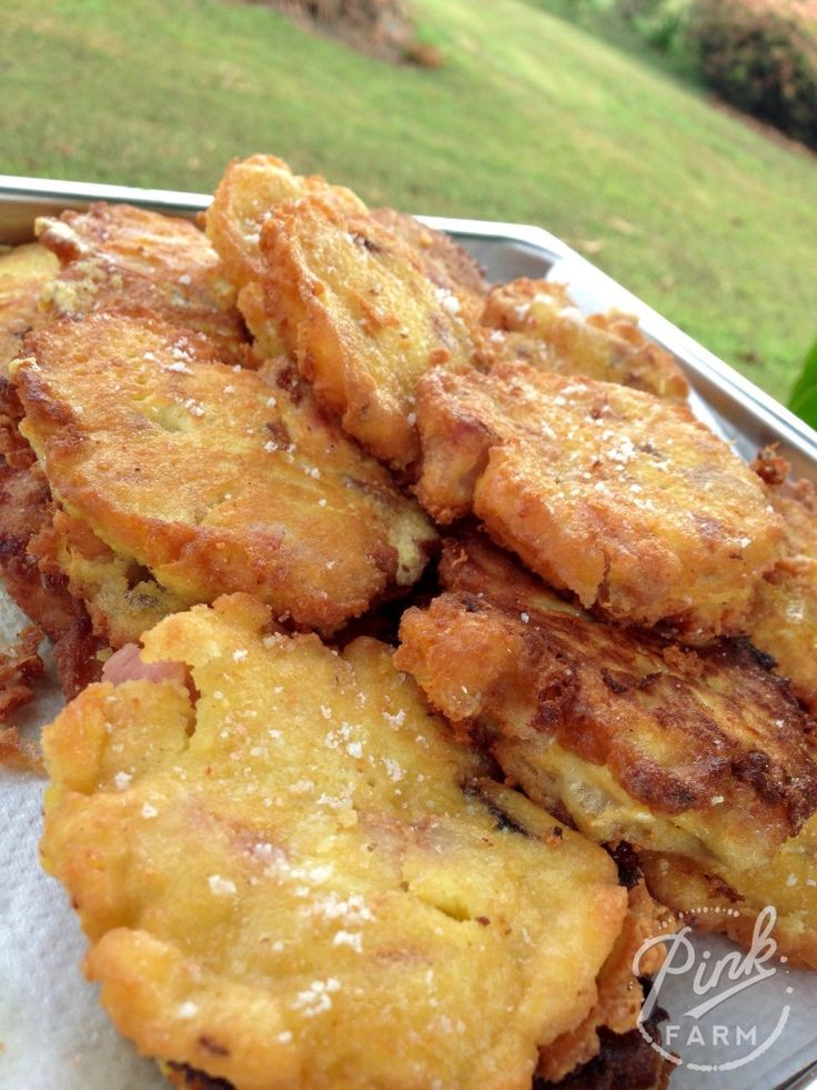 Budget Fritters 1/3 cup of coconut flour 1/3 cup of arrowroot flour 4 eggs 3/4 cup of water 2 tbls of melted coconut oil, ghee or butter 1 tsp of sea salt 2 cups of diced cold meat Tallow for frying