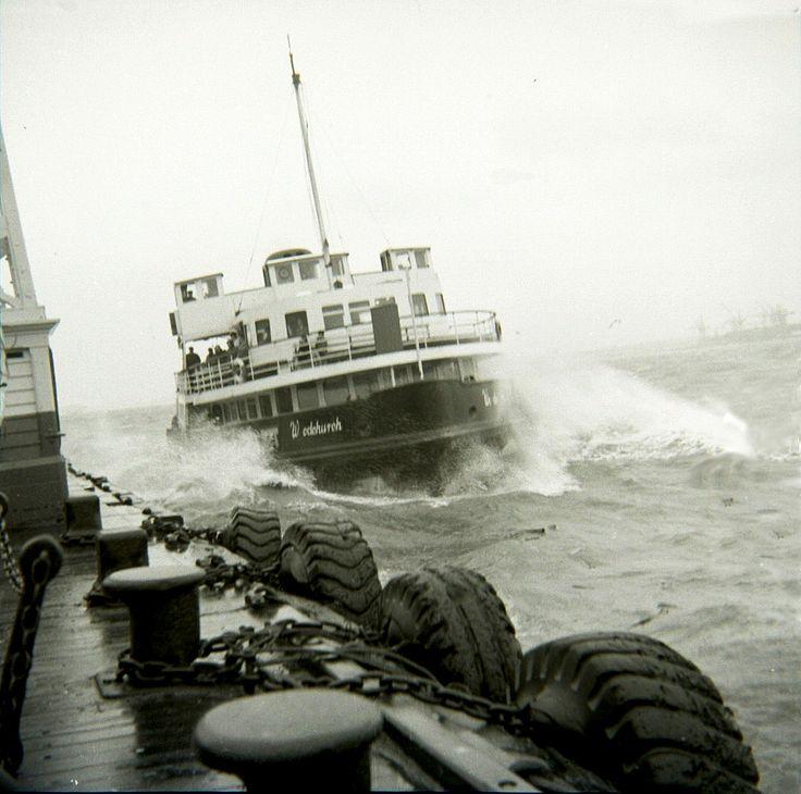 Birkenhead-Liverpool Ferry 1965