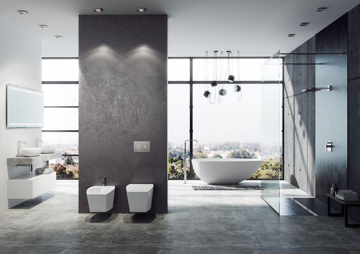 4 + 1 tip pro Malé koupelny: místo ušetří walk-in sprchový kout i Slim příslušenství