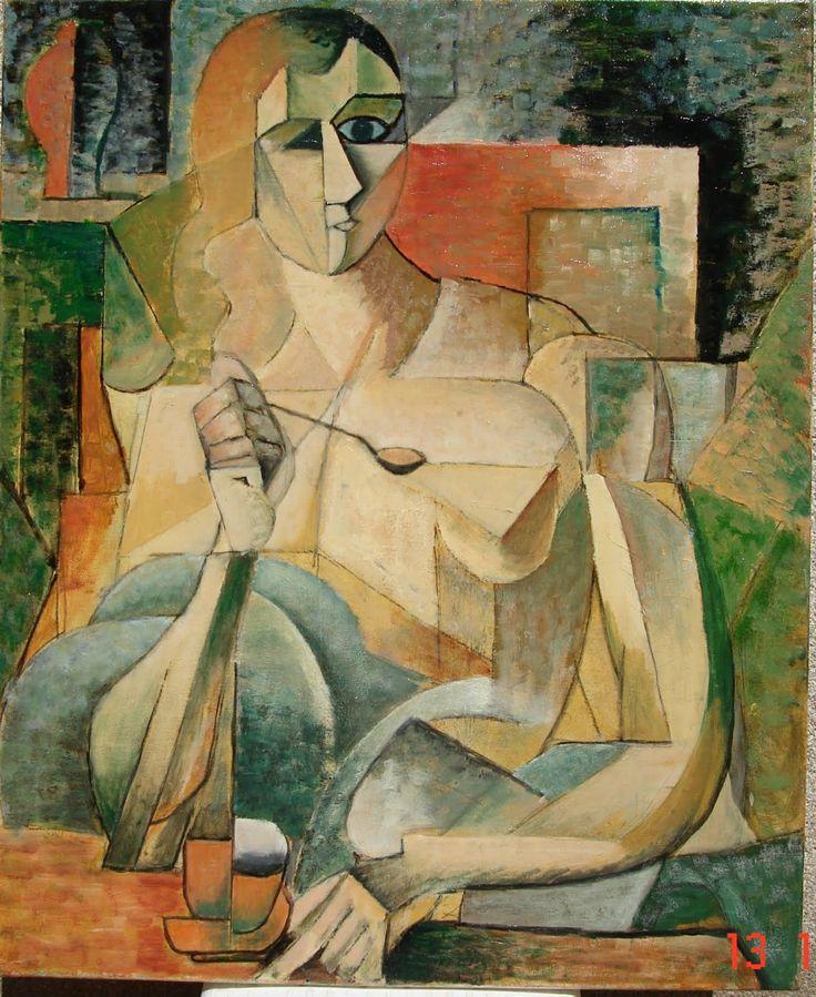 Tea Time (1911) by Jean Metzinger.