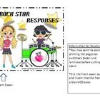 Rockstar Reading Response CDs- Perfect for Literacy Stations