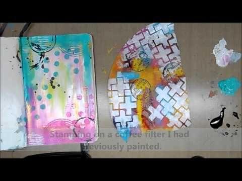 Mini Moleskine Art Journal Page #6 - YouTube