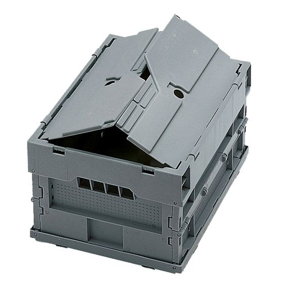 The Sino Holdings group participates in the manufacturing of large foldable containers. The large foldable container consists of three components, which are namely the bottom (that is the base), the side (which are the walls) and the cover (that is the lid).  See more at:- http://www.foldable-crate.com/Large-Foldable-Container.html