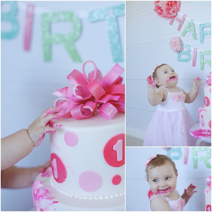 The 101 best images about 1 year on pinterest first for Baby girl first birthday decoration