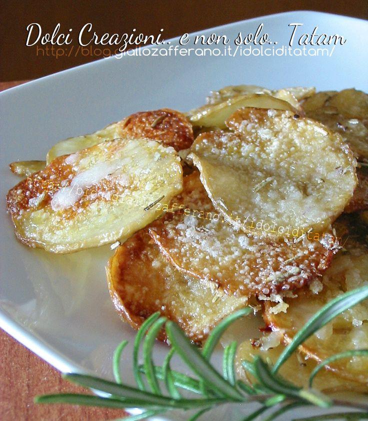 Patate al parmigiano al forno | ricetta contorno