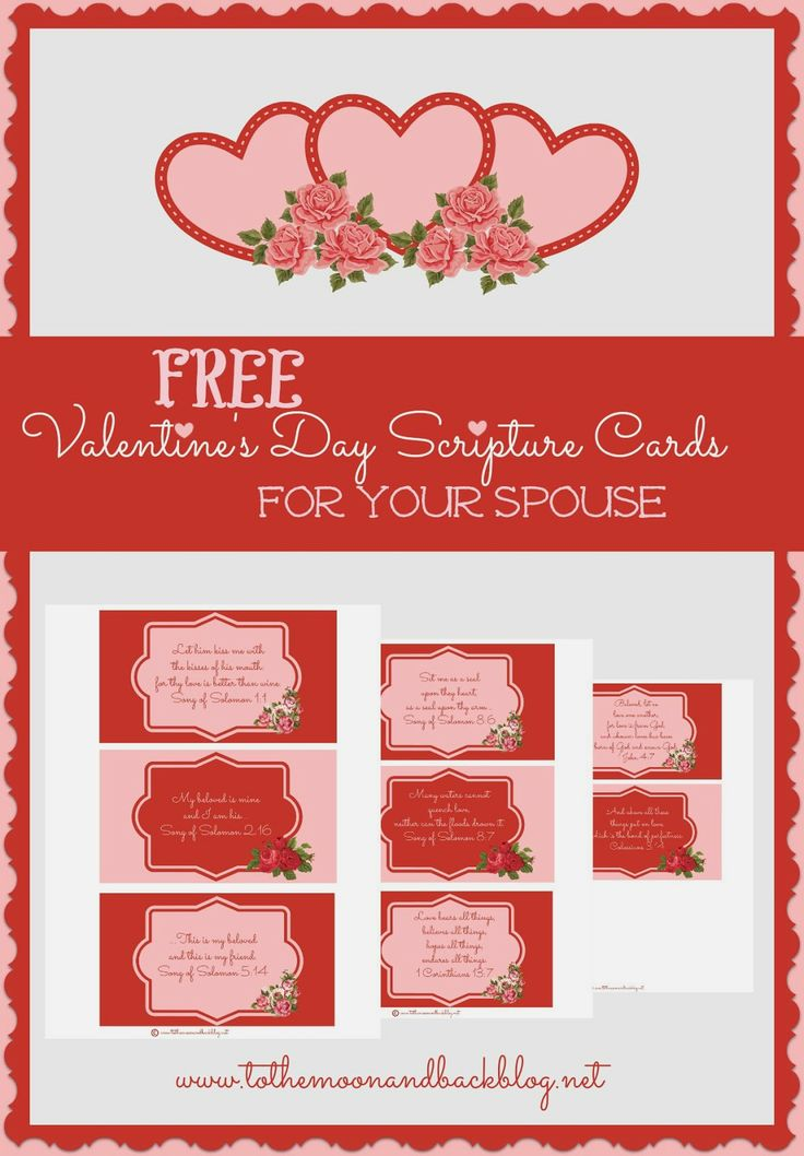 Valentine cards for your spouse with scripture