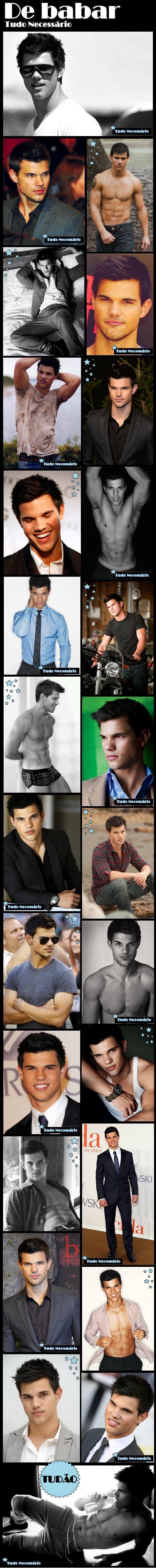 Taylor Lautner – O Jacob de Crepúsculo #TN