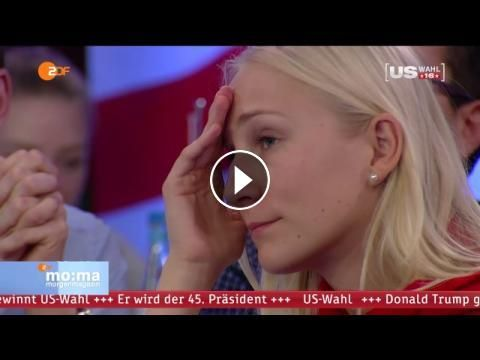 Reaktionen auf die wichtigste Wahl der Welt - morgenmagazin | ZDF: Die wichtigste Wahl der Welt war eine Zitterpartie und eine Nacht, die…