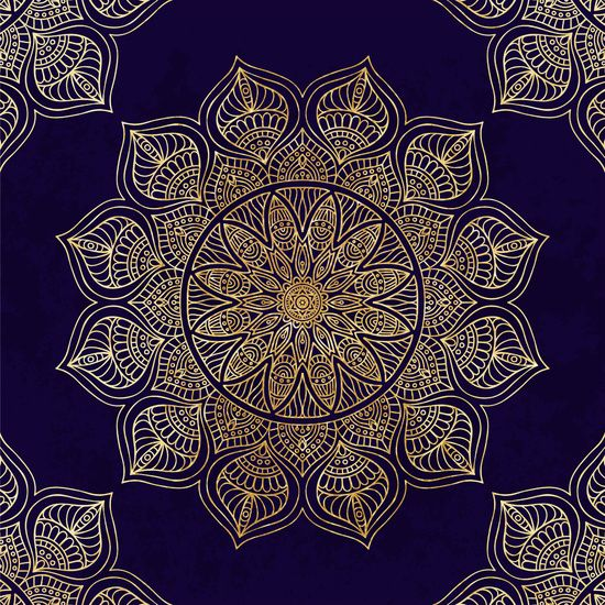 Gold Mandala Art Print                                                                                                                                                                                 More