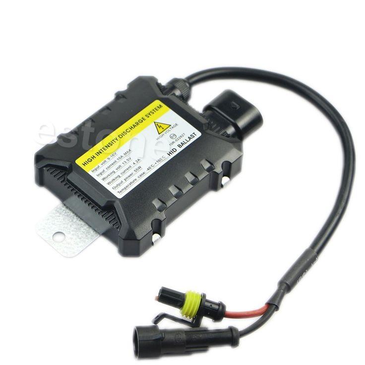 Auto H7 H1 DC Elektronische 55 W Licht Ultra Slim Ballast Xenon HID Kit Voor Alle Lampen