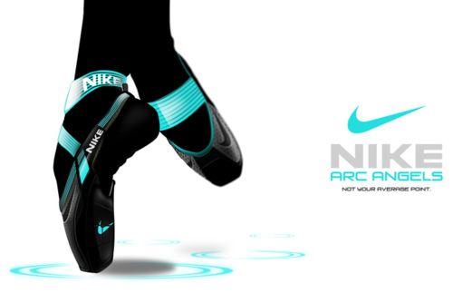 Nike point shoes? What?: Nike Points, Points Shoes, Nike Arc, Shoes Design, Dance Shoes, Ballet Shoes, Arc Angel, Arcangel, Toe Shoes