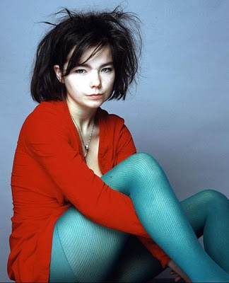 Bjork. This hair makes me violently happy.