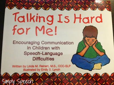 Simply Speech: Talking Is Hard For Me! {Book Review & Giveaway}