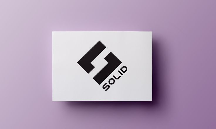 Solid - logo - by Lotne Studio