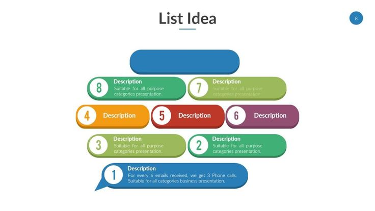 List Powerpoint Template