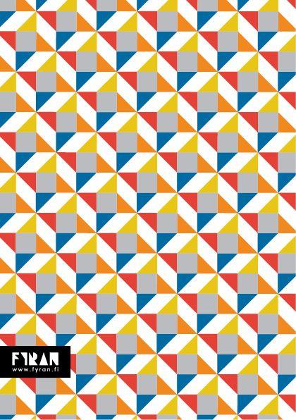 Mönsterkollektivet FYRAN / Pattern / Firru
