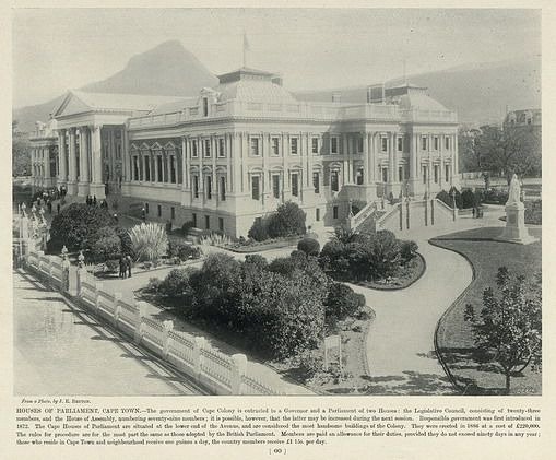 Houses of Parliament, Cape Town | South Africa by The National Archives UK