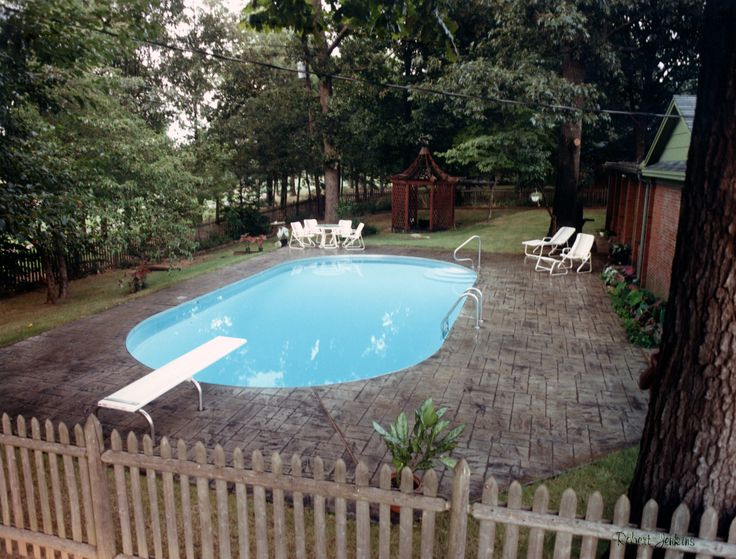 C&L Stainless oval pool