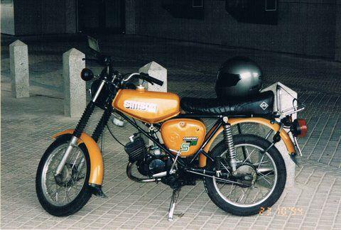 Simson S51B In senfgelb