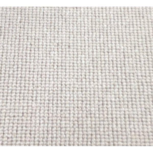 Manx Natural Shades Plain Mud 50% Wool 50% Polypropylene Grey Loop Carpet - Manx from All Floors UK