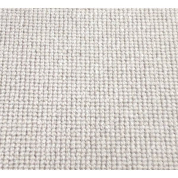 Manx Natural Shades Plain Mud 50% Wool 50% Polypropylene Grey Loop Carpet - Manx from All Floors UK