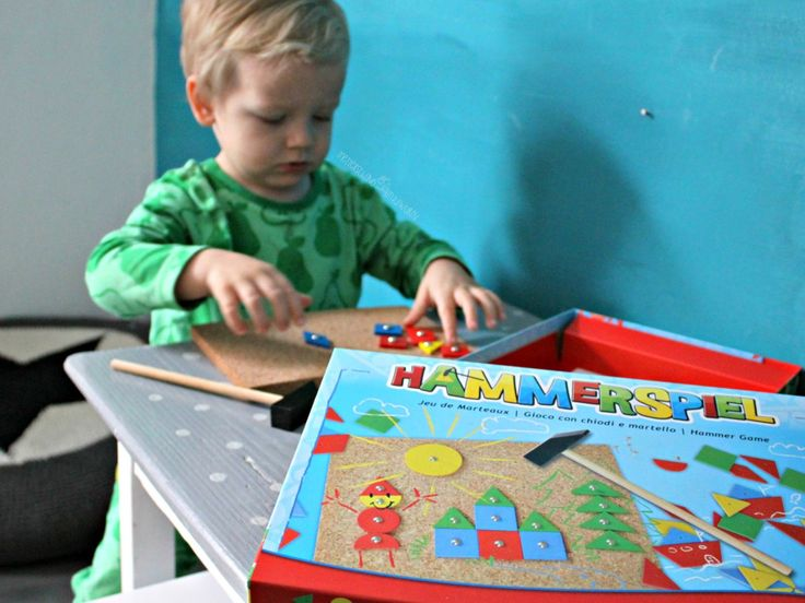Hammerspiel - Ideales Lernspiel Farben, Formen, Motorik