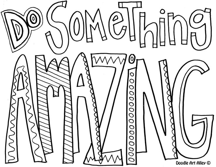 130 Coloring Pages : Cute quote coloring pages. inspirational quotes coloring pages