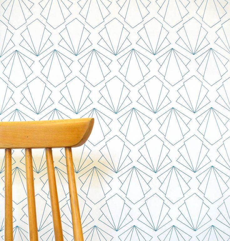 sunbeam wallpaper by joanna corney | notonthehighstreet.com