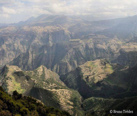 Ethiopie, dans les montagnes du Simien...