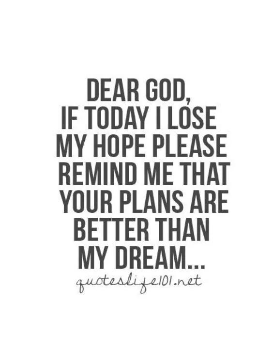 My drama are dead.. Hope God truly has a plan.