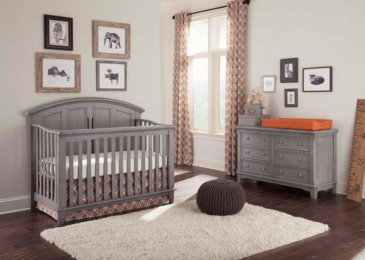 Wonderful Amazon.com : Westwood Design Jonesport 4 In 1 Convertible Crib, Cloud : Baby