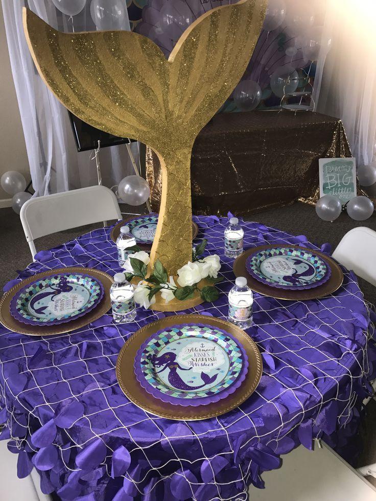 Mermaid Table Decor Ideas