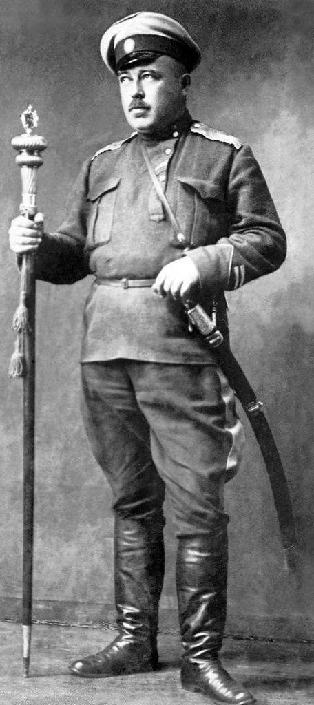 Alexander Ilyich Dutov Russian military leader Russian military, hero of the White movement, ataman of Orenburg Cossacks, lieutenant-general