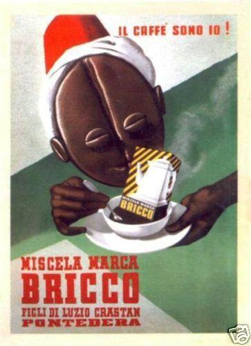 Bricco 1939 Italian Coffee Advertisement
