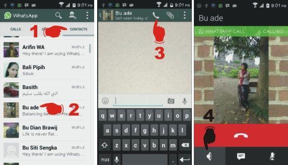 Cara aktifkan panggilan suara di WhatsApp