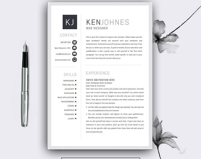 The  Best Creative Resume Templates Ideas On   Cv