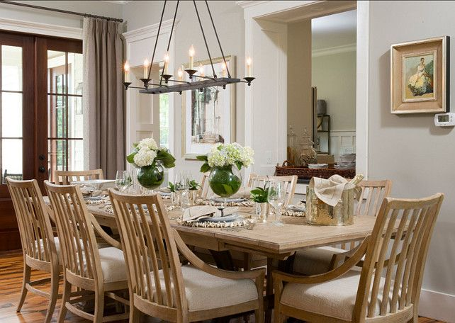 Dining Room Design The Table Is Shelter Bay Dining Table