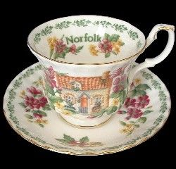 Royal Albert - English Country Cottages - Norfolk