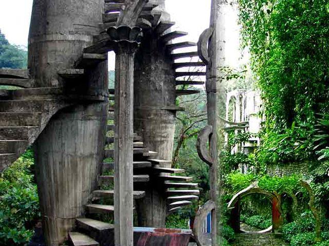Las Pozas.  Surrealist garden created by Sir Edward James near Xilitla, San Luis Potosí