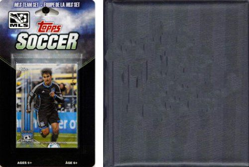 MLS San Jose Earthquakes Licensed 2013 Topps Team Card Set and Storage Album  //Price: $ & FREE Shipping //     #sports #sport #active #fit #football #soccer #basketball #ball #gametime   #fun #game #games #crowd #fans #play #playing #player #field #green #grass #score   #goal #action #kick #throw #pass #win #winning