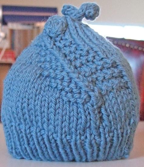 Knitted koru hat - Gebreide koru muts