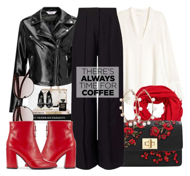 """""""There is always time for Coffee"""" by alaria ❤ liked on Polyvore featuring Miss Selfridge, MANGO and CoffeeDate"""