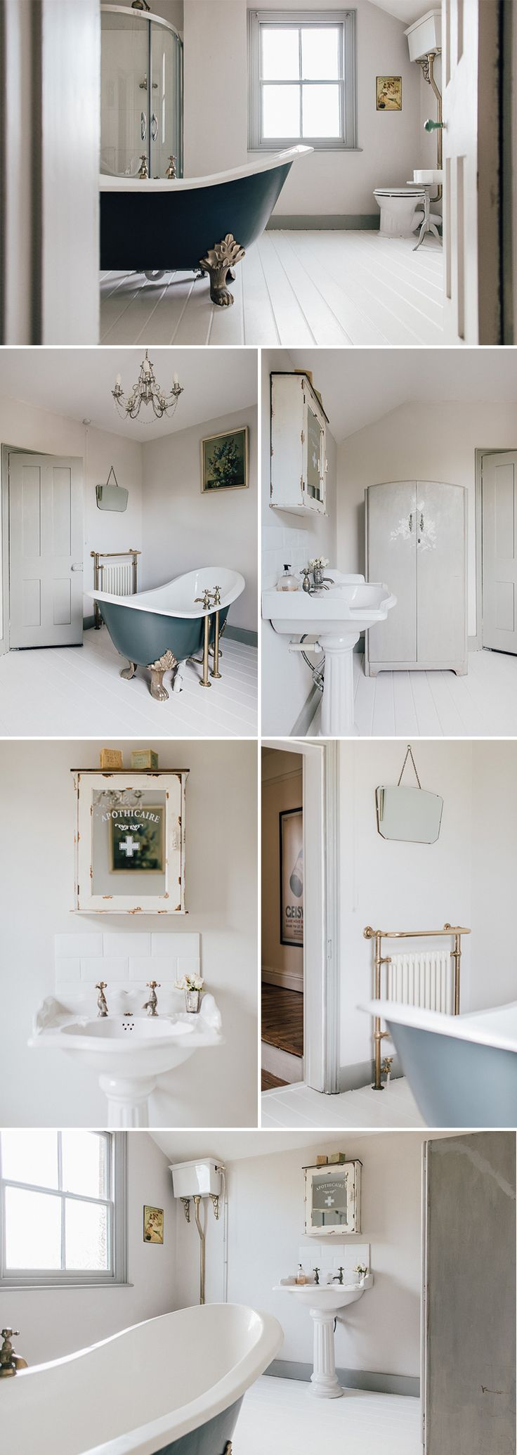 Balterley bathroom furniture - Rebecca S Minimalist Period Home